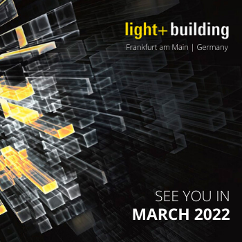 NEW Light + Building Frankfurt - 2022